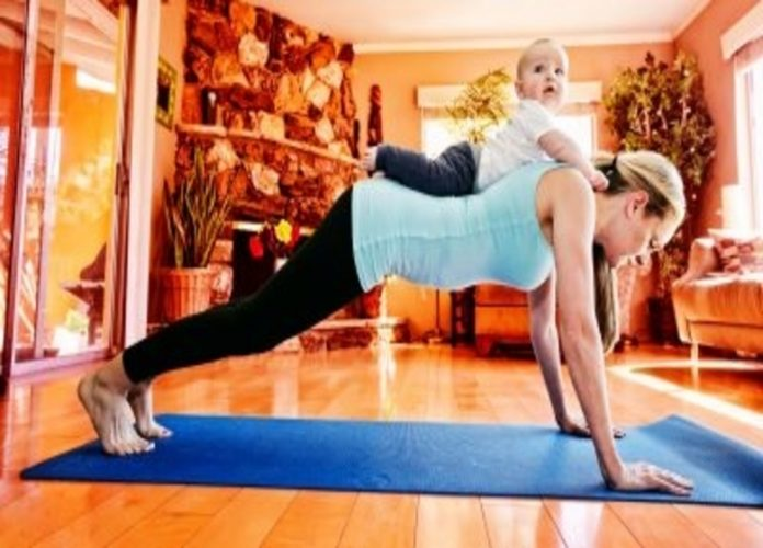 mom workout