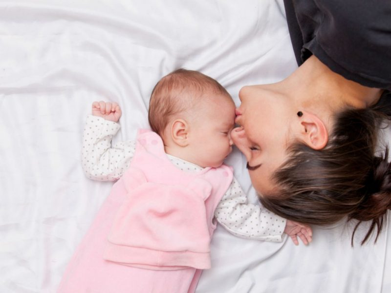 Sniffing your baby