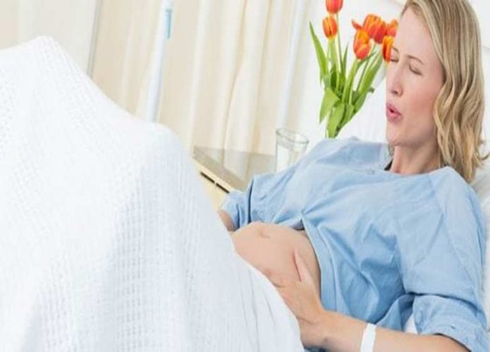 Breathing and relaxation technique during labor