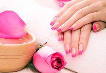 Hot oil manicure