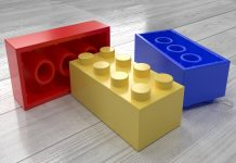 LEGO bricks to teach math
