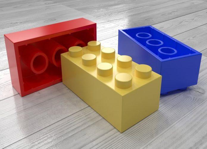 LEGO bricks to teach math
