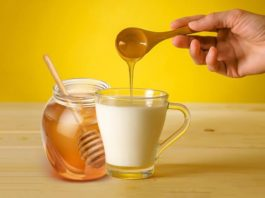 Benefits of milk with honey