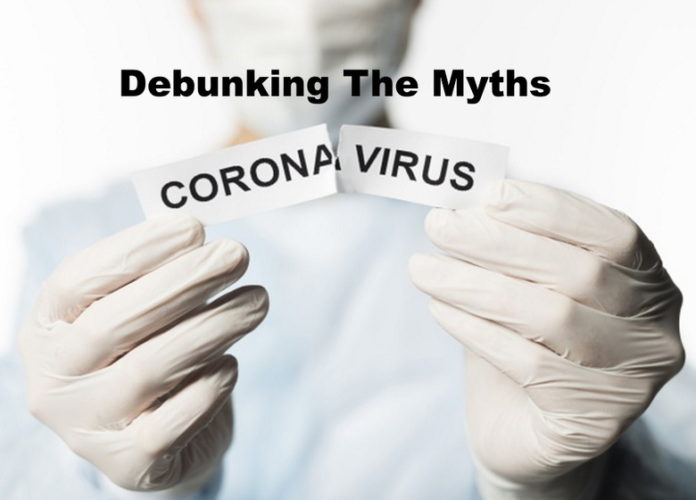 Know The Myths About Coronavirus Debunked